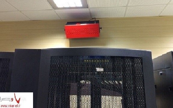 سیستم اطفای حریق آتش سوزی در اتاق سرور