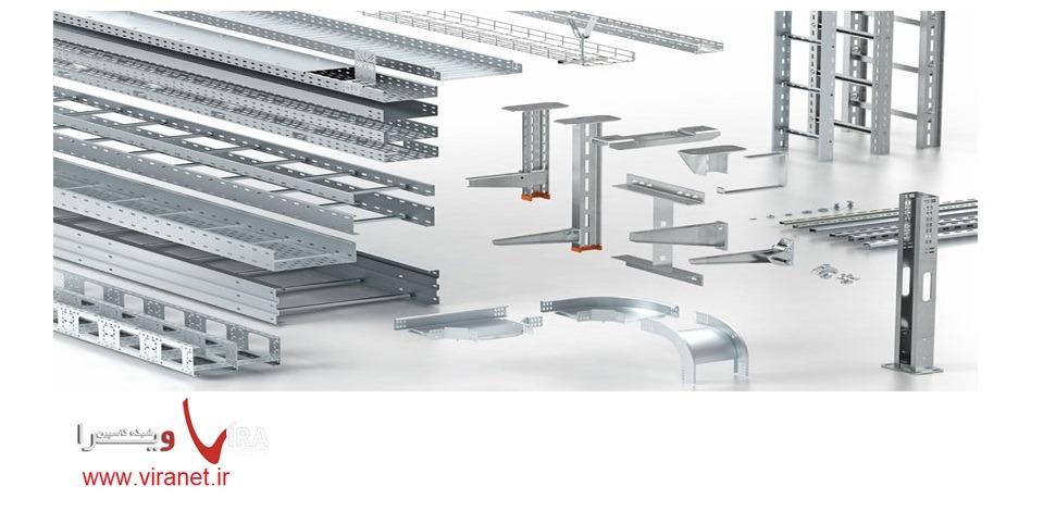 انواع سینی کابل شبکه و روش نصب