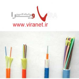 انواع کابل فیبر داخلی Indoor Fiber Optic Cables
