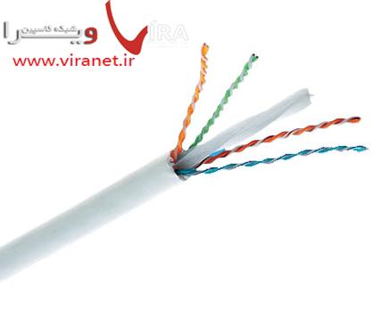کابل شبکه آر اند ام Cat6a UTP