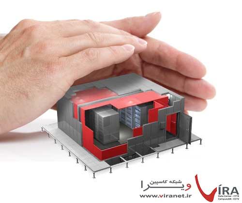 حفاظت الکترومغناطیسی دیواره های مراکز داده