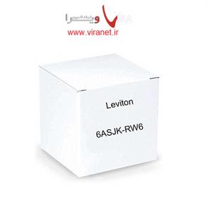 کيستون شيلدد Cat6A لويتون با Leviton 6ASJK_RW6