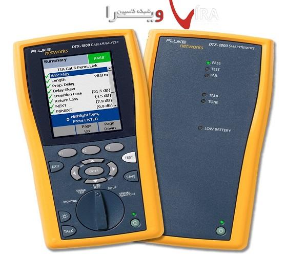 تسترکابل شبکه فلوک FLUKE Cable Analyzer DTX1800