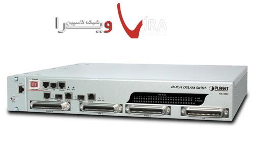 مودم 48 پورت پلنت Planet ADSL IP DSLAM IDL4802